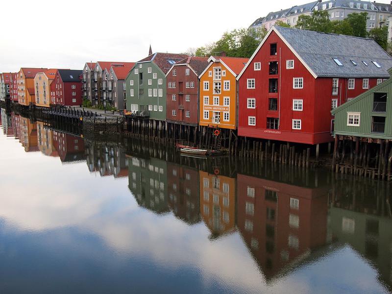 Bakklandet in Trondheim
