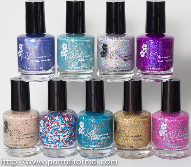 kbshimmer summer collection part two bottles photo (1 of 1)