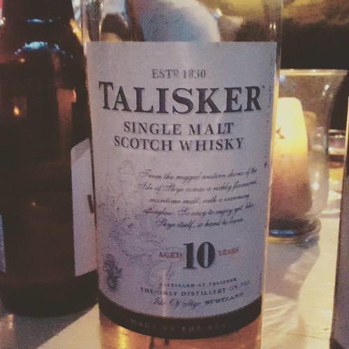 Sitze in #Stadtlengsfeld in #Thueringen und trinke #talisker. Hattet ihr d3n schon @tasteup_de ?