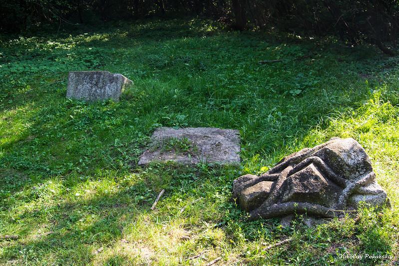 Остатки от польского кладбища