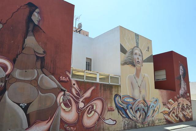 Almería, Retamar. 25/07/2015 fotos de zeroanodino para URBANARTIMAÑA