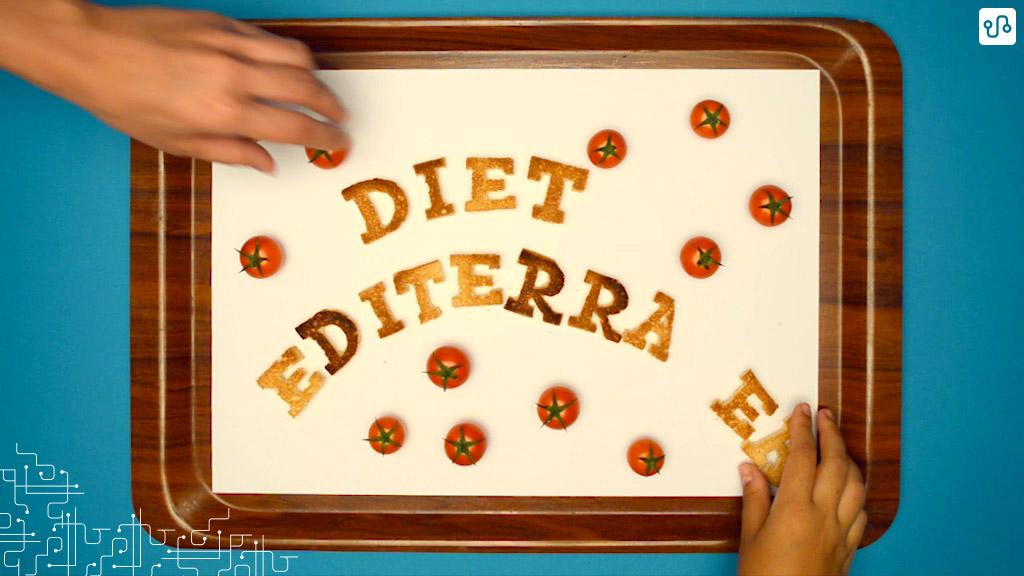 Letras na construção de Dieta Mediterrânea