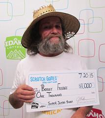 Bobby Frisbee - $1,000 Super Jumbo Bucks