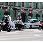 Défilé de Mariées sur  Neski Prospect