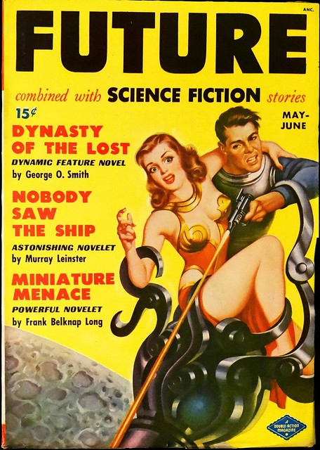 Future Science Fiction Vol. 1, No. 1 (May-June, 1950).  Cover Art by Earle Bergey