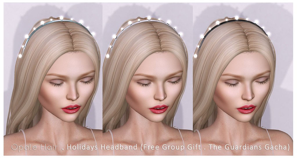 Opale Hair . Free Gift The Gacha Guardians January 2017 - SecondLifeHub.com