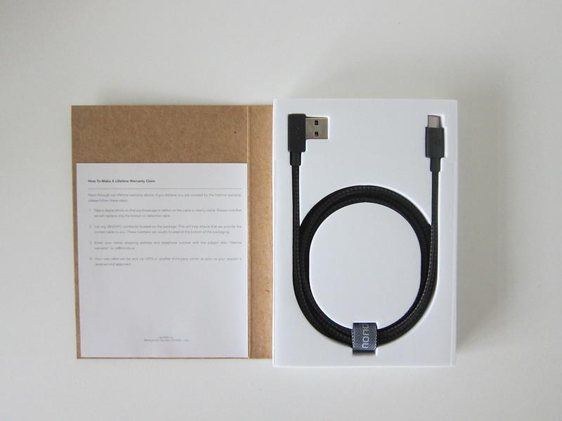 ZUS Super Duty USB-C Cable - Box Open