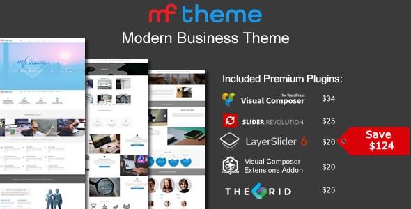 MF v1.0 – Responsive Multipurpose Theme