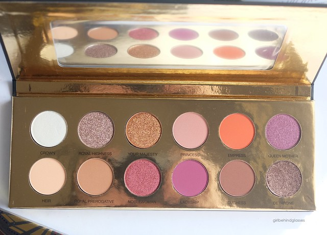Coloured Raine Queen of Hearts Palette