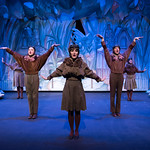 A Year With Frog and Toad - Arvada Center 2017 - Maggie Tisdale, Carter Smith, Lindsay Weidig, Ben Griffin and Melissa Morris (left to right) M. Gale Photography 2017