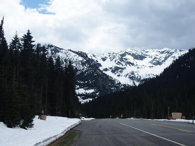 Rainy Pass: 4855 feet up