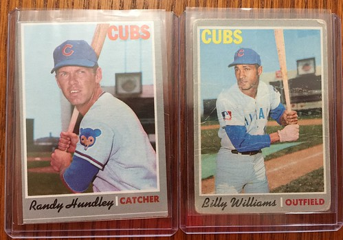 1970 Topps Chicago Cubs cards