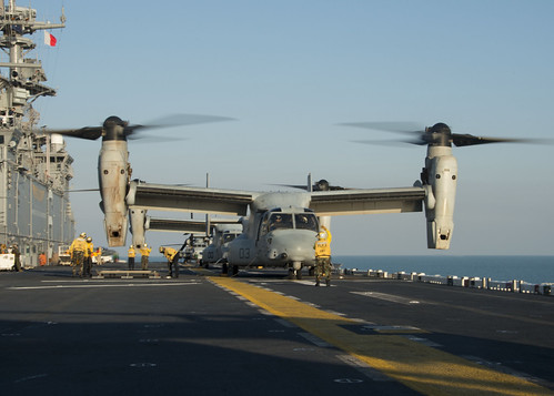 The Impossible Bird: The MV-22 Osprey Tilt-rotor aircraft