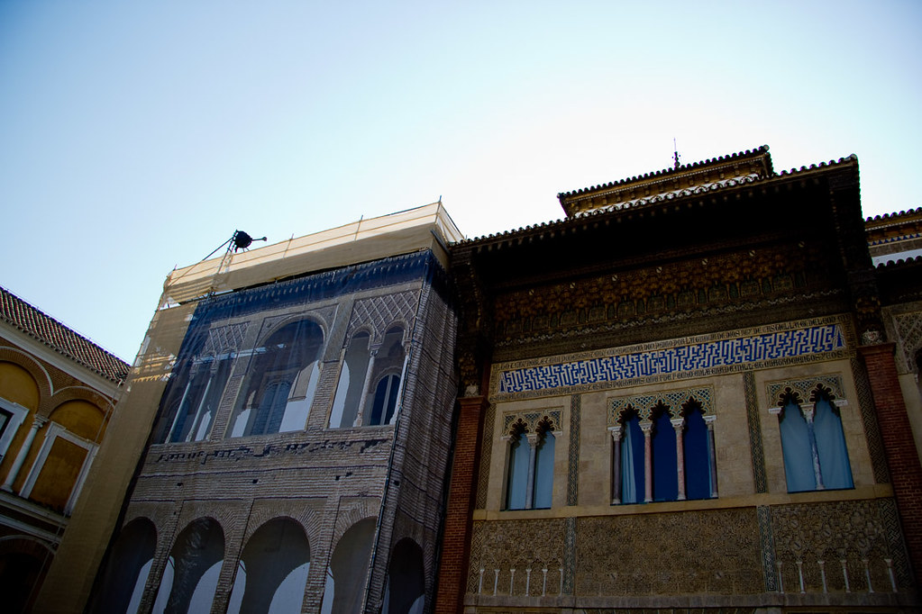 Restoration at Royal Alcazar Palace