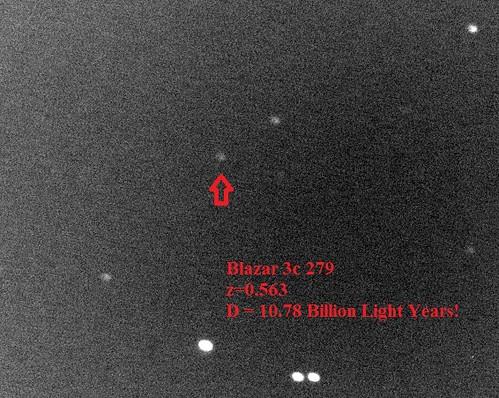 VCSE - Mai kép - A 3C 279 kvazár