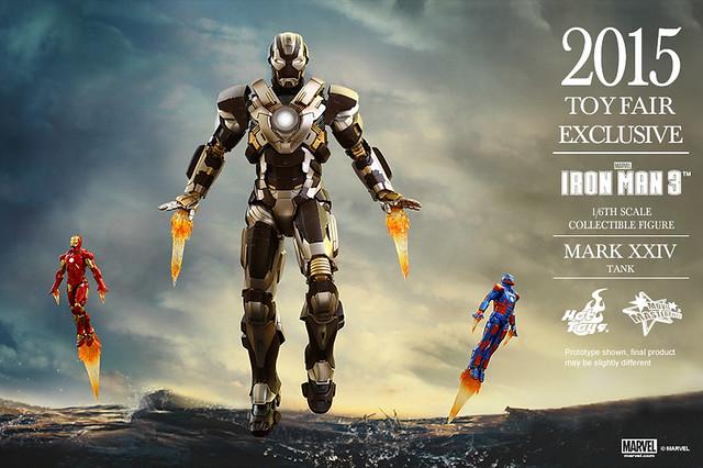 【官圖更新】Hot Toys 鋼鐵人3【馬克24 坦克】2015 香港動漫節限定 第一彈 1/6 比例鋼鐵人作品