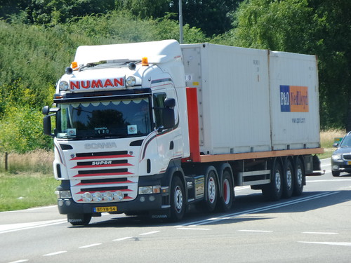 Scania R-series from Numan Holland