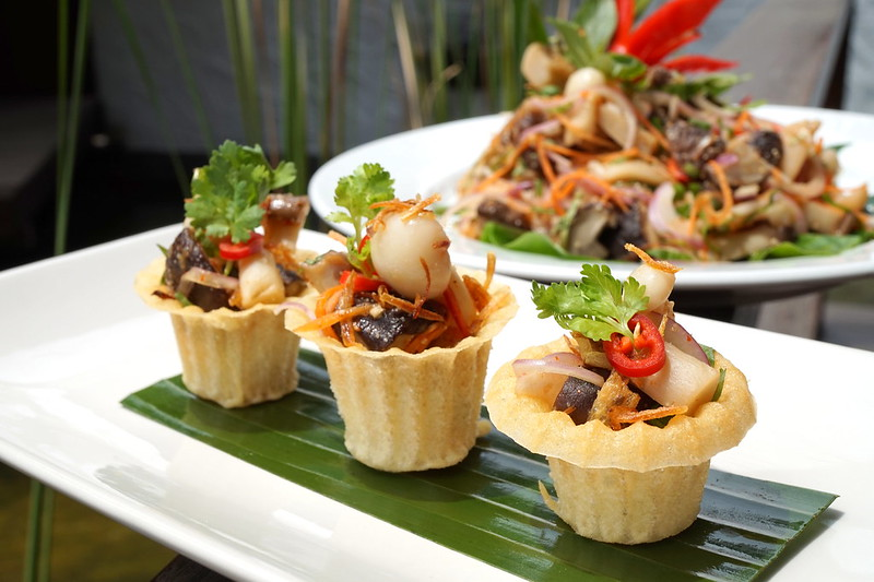 Samadhi Food Festival 2015 Tamarind Hill Assorted Mushrooms 2