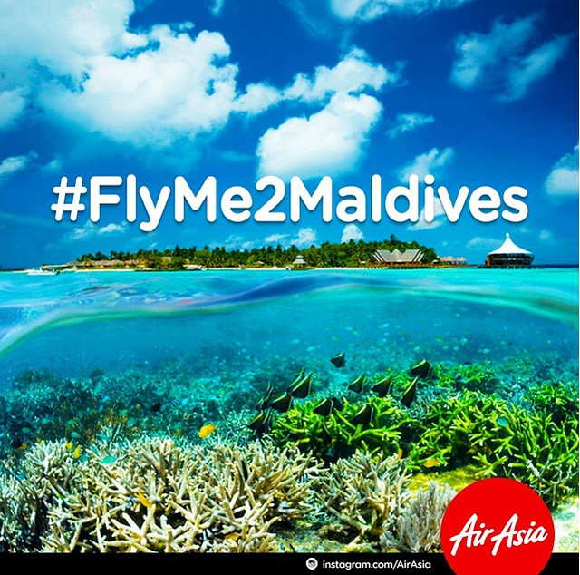 airasia maldives flyme2maldives instagram contest