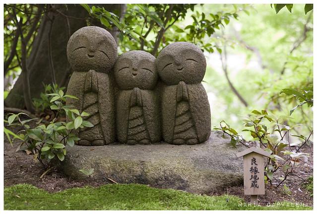Kamakura - Jizos en Hase-Dera