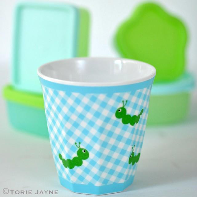 Kids caterpillar cup