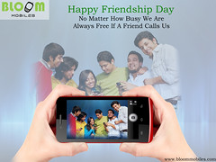 no matter how busy we are- we are always free if a friend calls us- happy friendship day