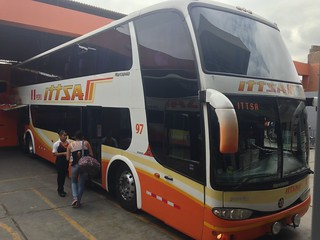 Itsa Bus.  Puira,  Peru.