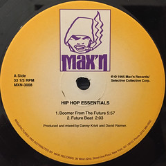 DANNY KRIVIT AND DAVID RAIMER:HIP HOP ESSENTIALS(LABEL SIDE-A)
