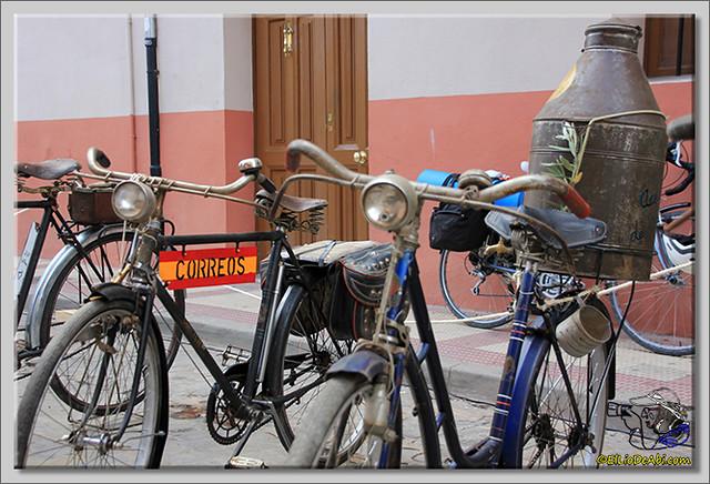 6 Exposición de bicicletas antiguas