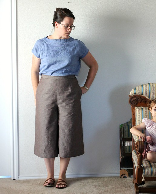aug 11 style arc and butterick culottes