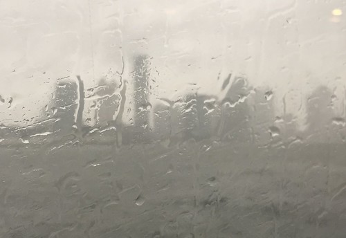 Rainy Day at Hoboken Ferry