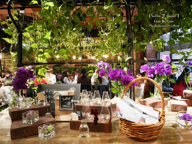 日本東京表參道花店咖啡館Aoyama Flower Market Tea House青山店  (31)