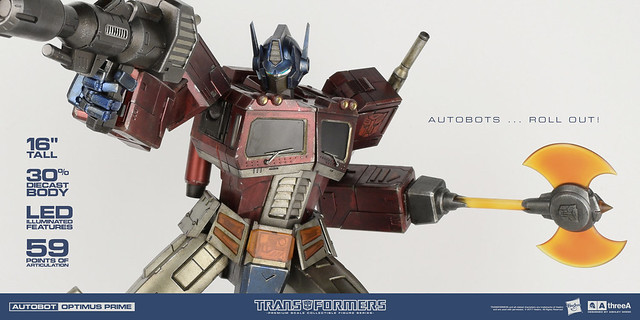 threeA G1 經典版 PSC系列:柯博文 Transformers Generation One (TFG1) Premium Scale Collectible Series:Optimus Prime