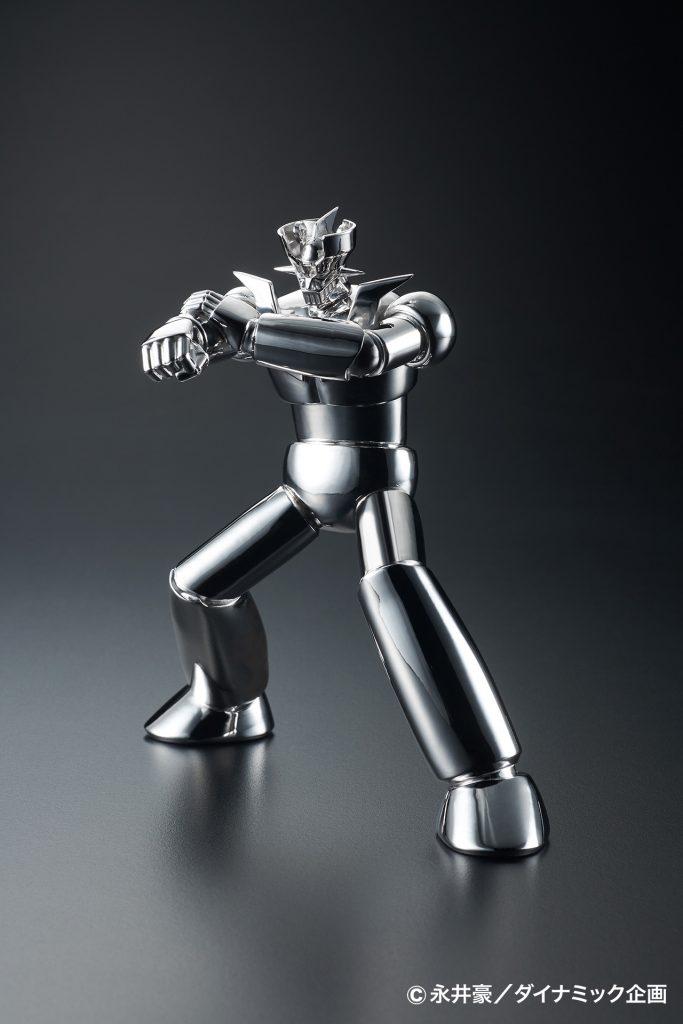 全球唯一!價格最貴的 白金製無敵鐵金剛  プラチナ製マジンガーZ 即將發售!