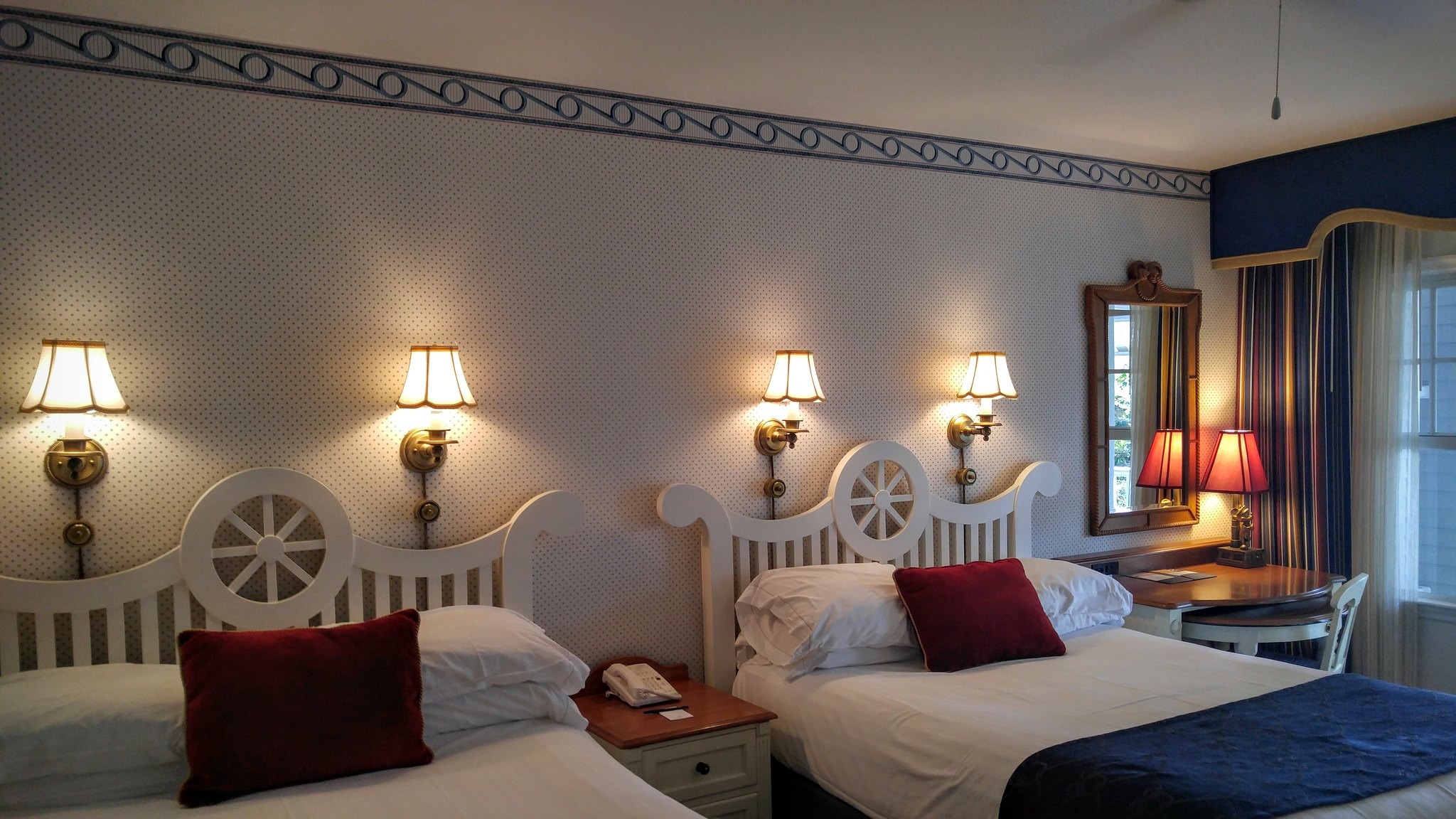 Standard Room with Two Queen Beds at Disney's Yacht Club Resort