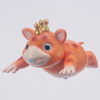 怪獸鄉ソフビシ「快獸布斯卡」橙色 飛行姿勢版本!