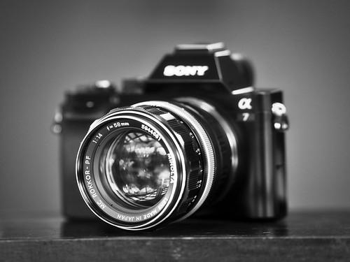 Rokkor 58mm f1.4 on a7