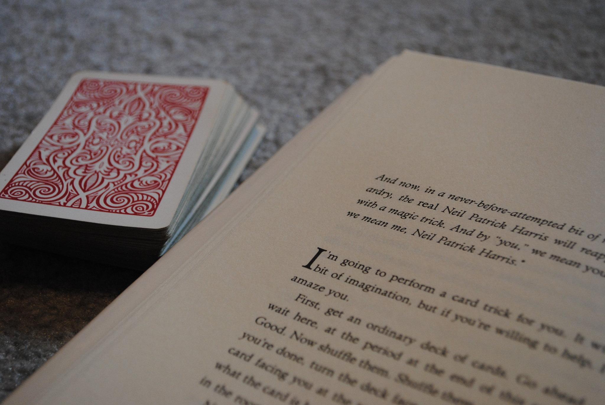 Book and a Magic Trick