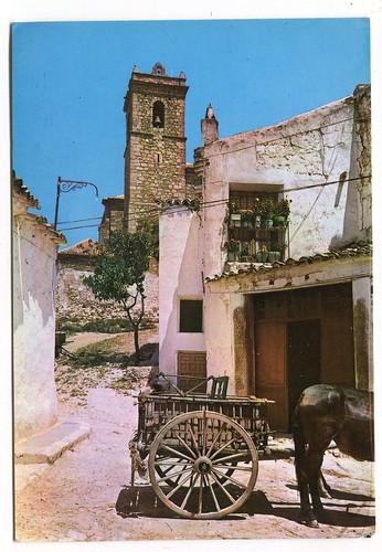 Santa Cruz de la Zarza (Toledo) :calle de Vicuscuminar=Rue de Vicuscuminar=Vicuscuminar street