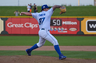 Finny, pitching
