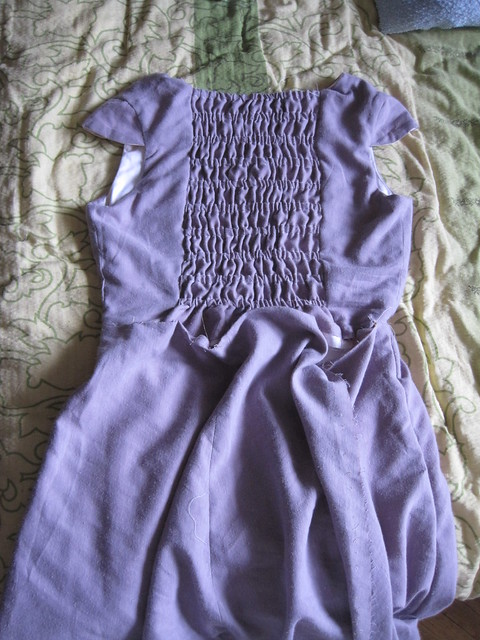 purple dress problems