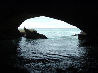 Waenhuiskrans Cave at Cape Agulhas