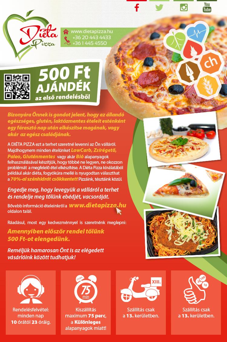 Diéta Pizza hírlevél