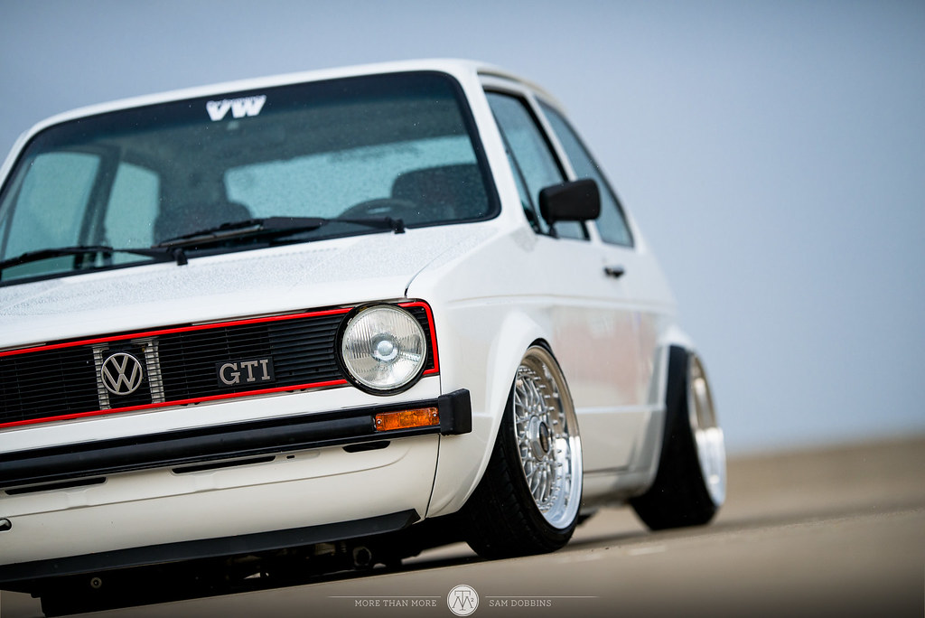 Jesse Seymour's GarageJobs Mk1 VW Rabbit VR6 on BBS RS - © Sam Dobbins 2014 - 1029