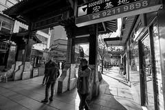 Chinatown - Street B&W I