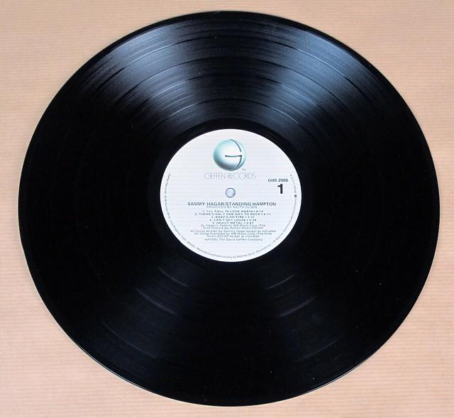 "SAMMY HAGAR Standing Hampton Orig Usa Sexy Cover 12"" Lp Vinyl"