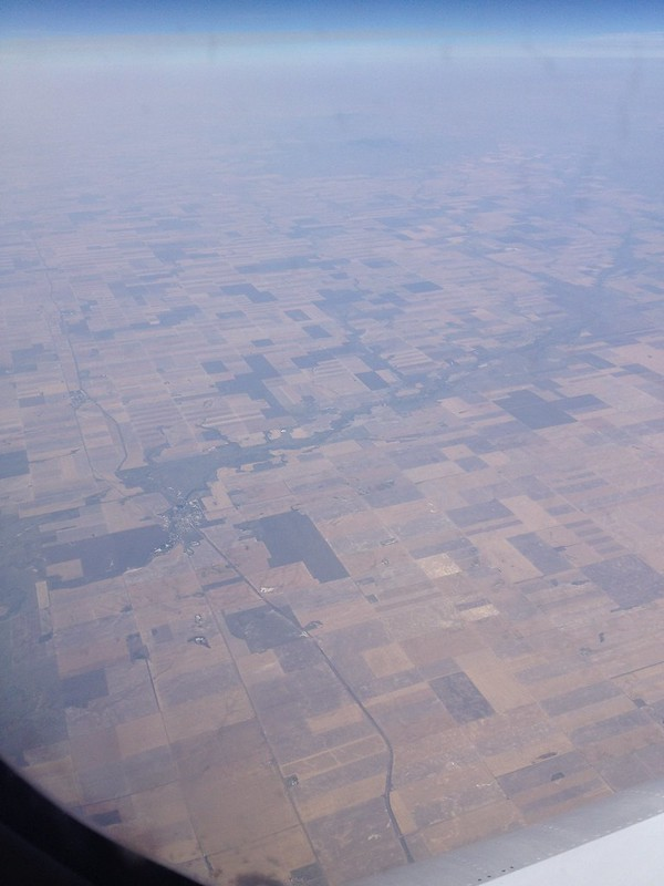 American Fields from Above