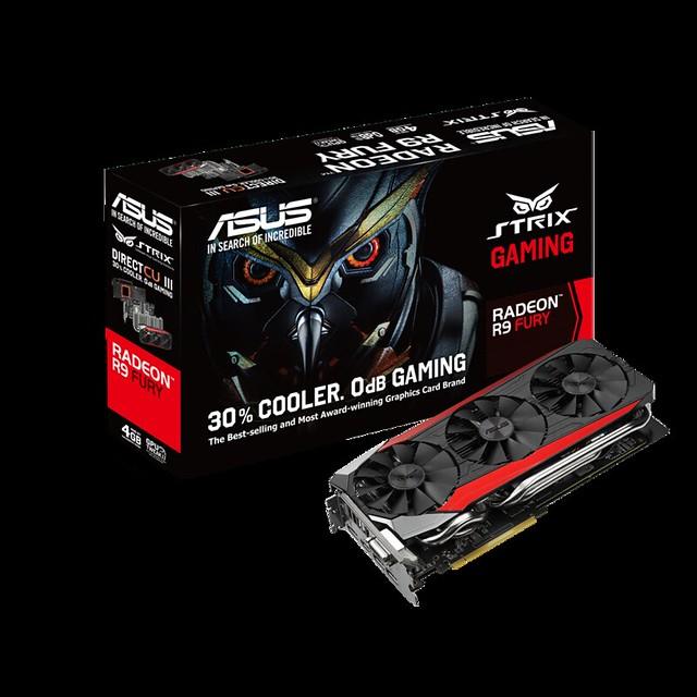 [PR] ASUS chính thức ra mắt card đồ họa Radeon R9 Fury Strix - 81922