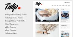 Tulip - Responsive WordPress Blog Theme (Personal)