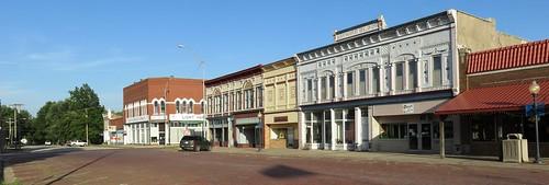 ks kansas yatescenter downtowns woodsoncounty